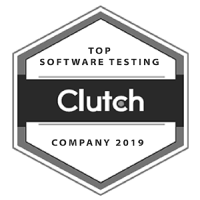 Clutch - Top Software Testing Company Award 2019